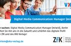 "Wir suchen ""Digital Media Communication Manager (m/w/d)"