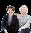 Jeanny Gucher und Teresa Zimmermann