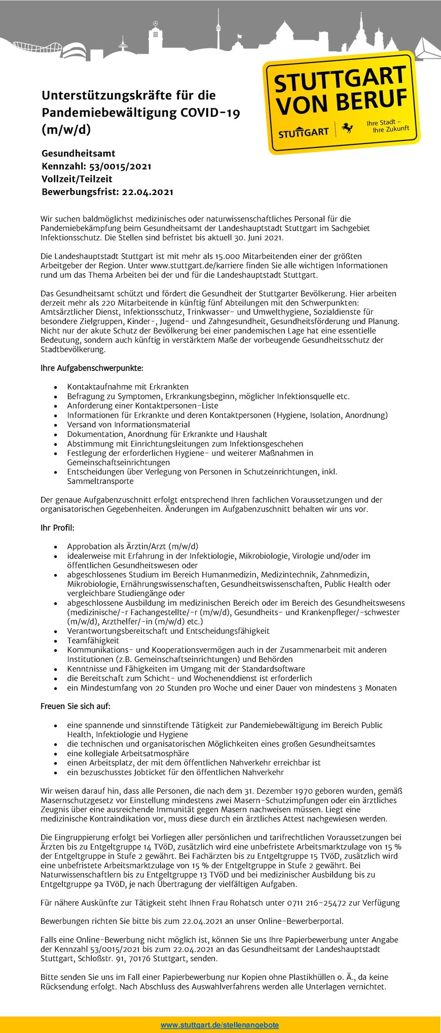 Bewerbung Sozialmedizinische Assistentin 14